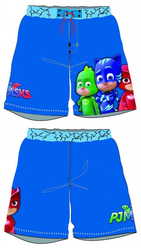 Chlapecké letní plavecké šortky PJ Masks Greg / Amaya / Connor tmavě modré