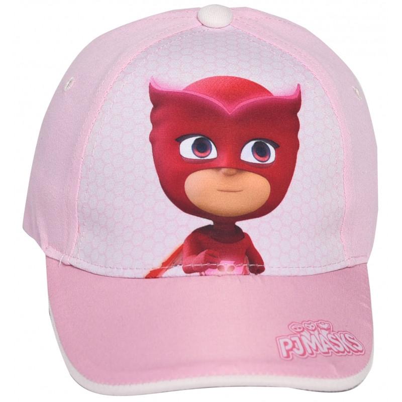 Dívčí letní kšiltovka Amaya / PJ Masks / Pyžamasky velikost 50 - 52 cm