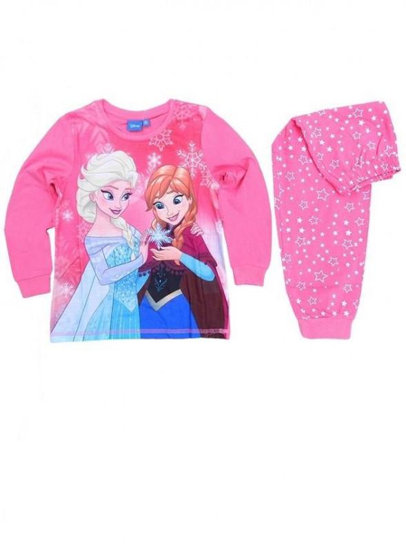 Pyžamo Ledové Království / Frozen Anna Elsa Růžové Vel. 98 - 134