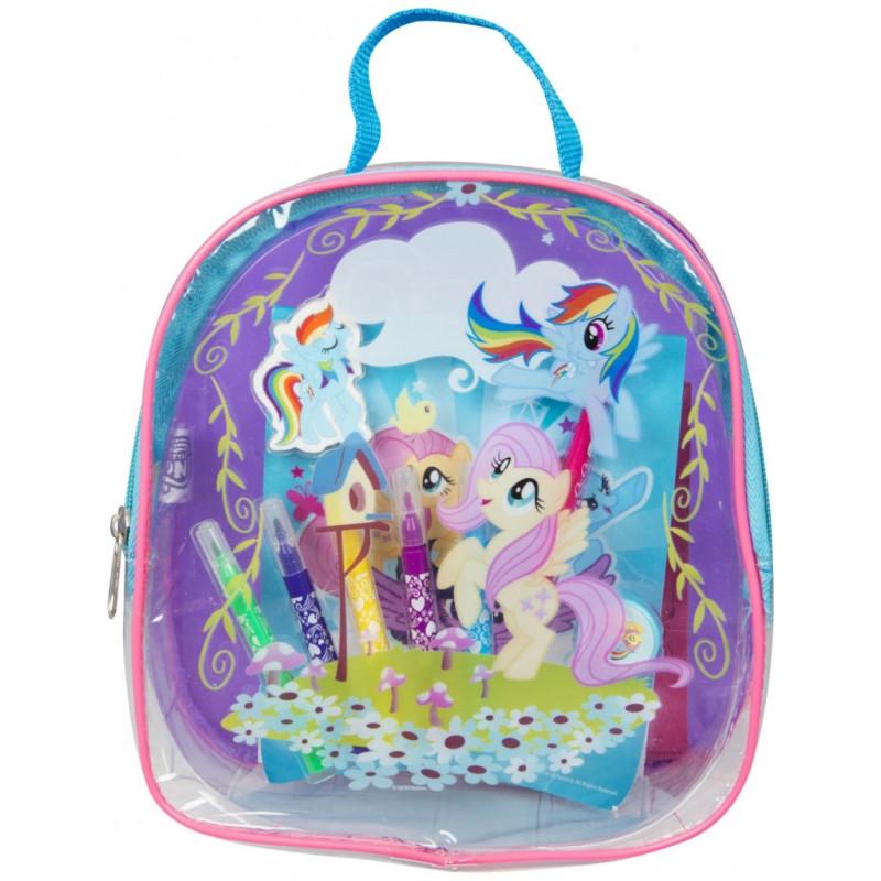 Omalovánky v průhledné taštičce My Little Pony / 8 x 23 x 21