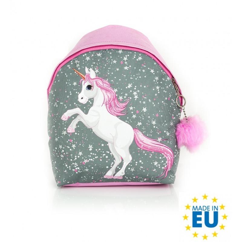 Dívčí batoh Unicorn / Jednorožec / 30 x 28 x 11 cm
