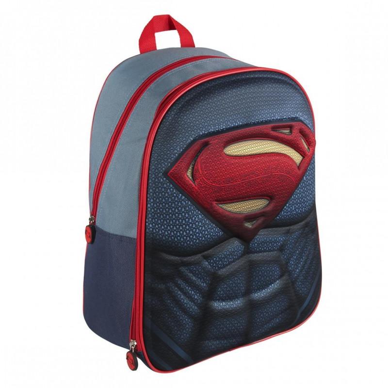 Školní batoh superman Superman 3D / 28,5 x 40 x 14,5 cm