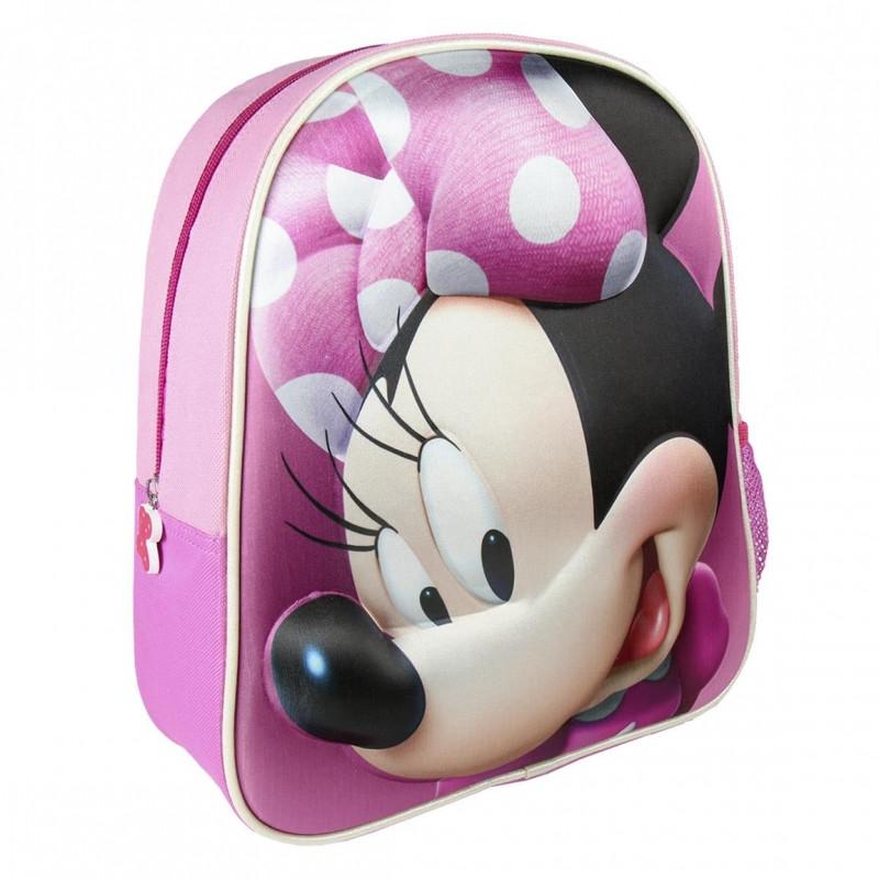 Dívčí batoh Minnie Mouse 3D / 25 x 31 x 10 cm  / veci z filmu