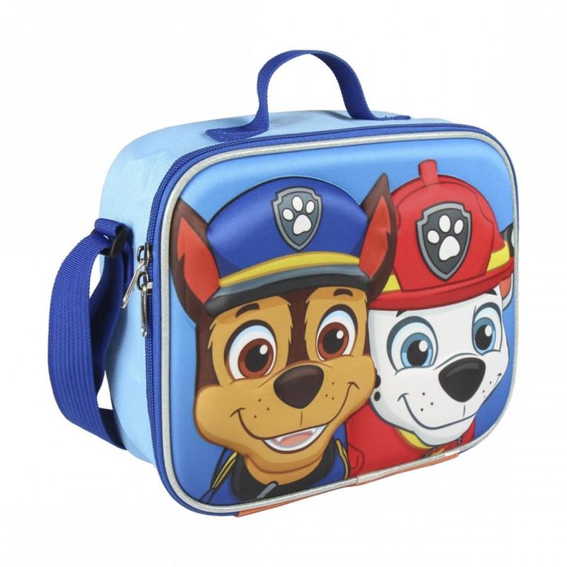 Dětská 3D termo taška na svačinu Paw Patrol / 23,5 x 19,5 x 8 cm