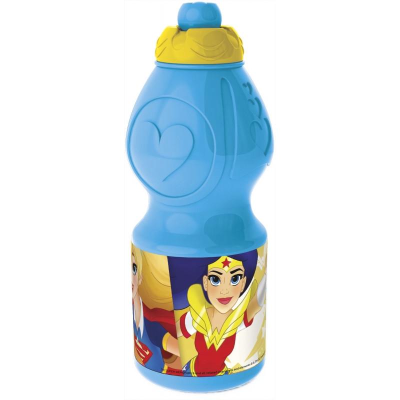 Sportovní plastová láhev / DC Super Hero Girls / 400 Ml / veci z filmu