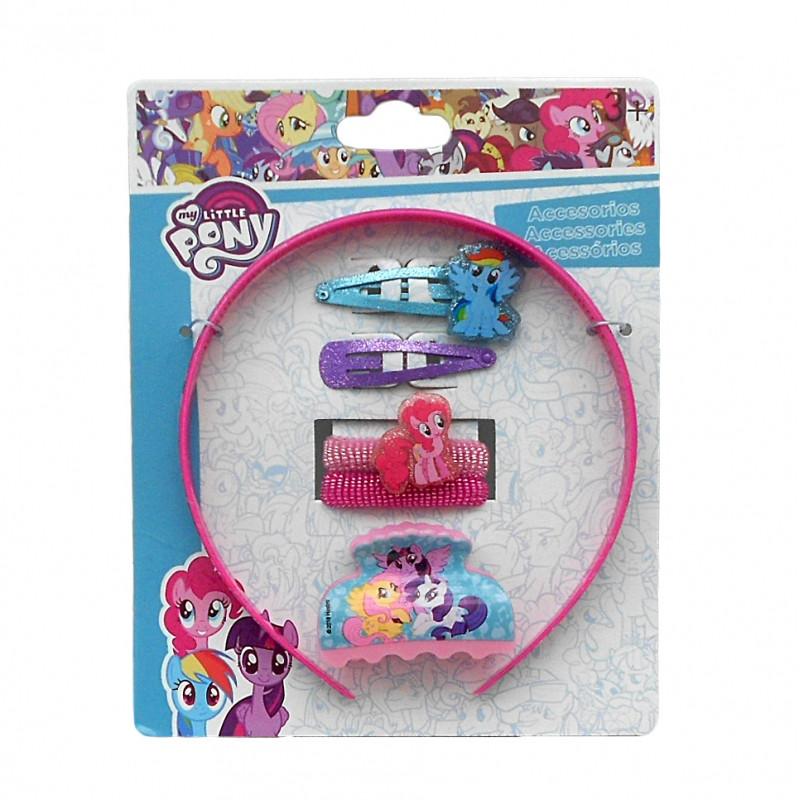 Dívčí vlasová sada My Little Pony / veci z filmu