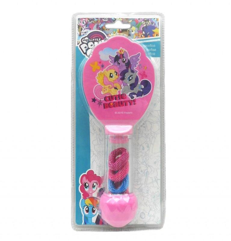 Kartáč na vlasy a gumičky My Little Pony