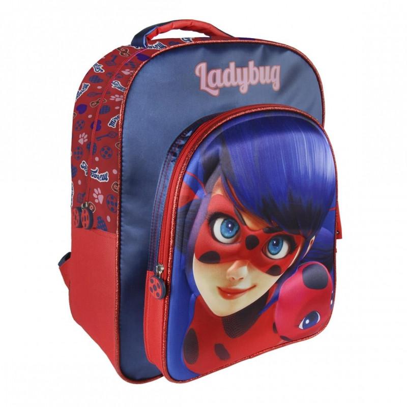 Školní batoh Miraculous Ladybug 3D / Zázračná Beruška / 31 x 41 x 13 cm