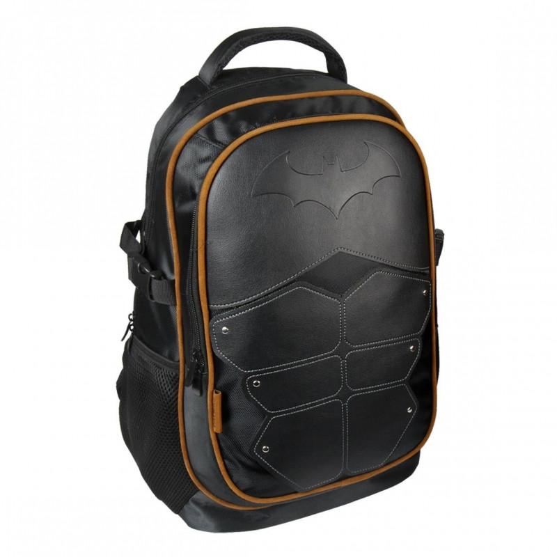 Školní batoh černý Batman / 31 x 47 x 24 cm