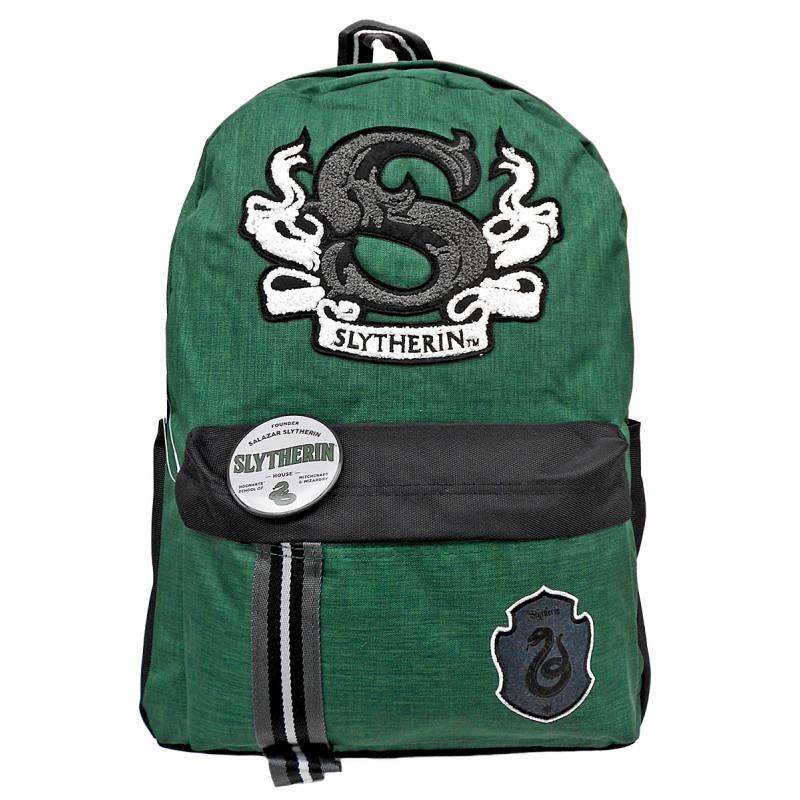 Školní batoh Harry Potter / Syltherin / 43,5 x 13,5 x 41,5 cm