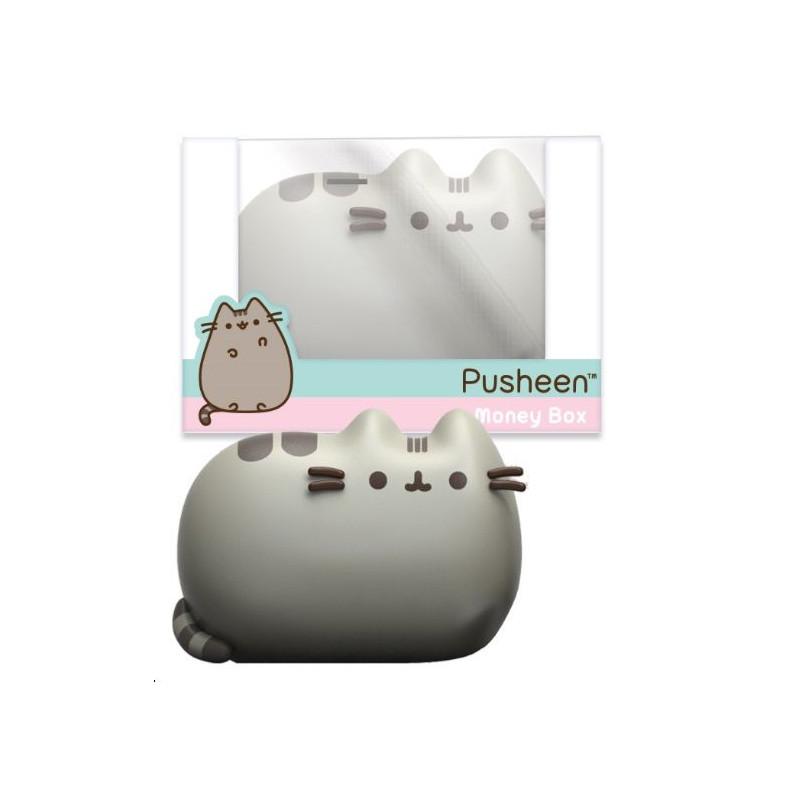 Keramická pokladnička ve tvaru líné kočičky Pusheen