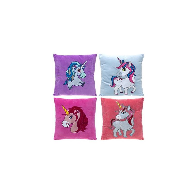 Dívčí polštář Jednorožec / Unicorn 35 x 35 cm