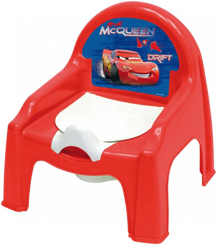 Chlapecký nočník s Bleskem McQueenem Cars / Auta 30 x 30 x 35 cm