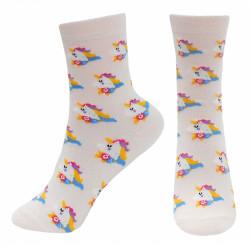Dívčí ponožky Jenorožec / Unicorns / 3 páry v balení /  velikost: 31/34 / veci z filmu