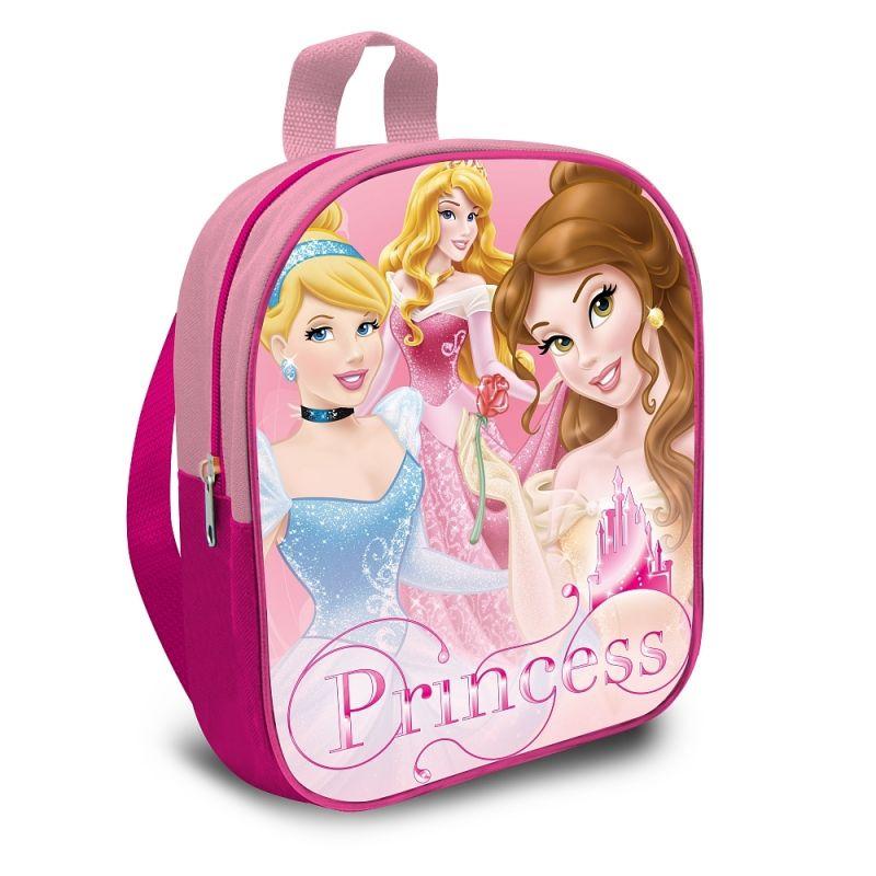 Dívčí batoh Princezny / Princess velikost 29 cm
