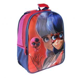 ... Oboustranný dívčí batoh Zázračná Beruška   Miraculous Ladybug 31 x 41 x  13 cm   vecizfilmu ... b61a0e0bd3