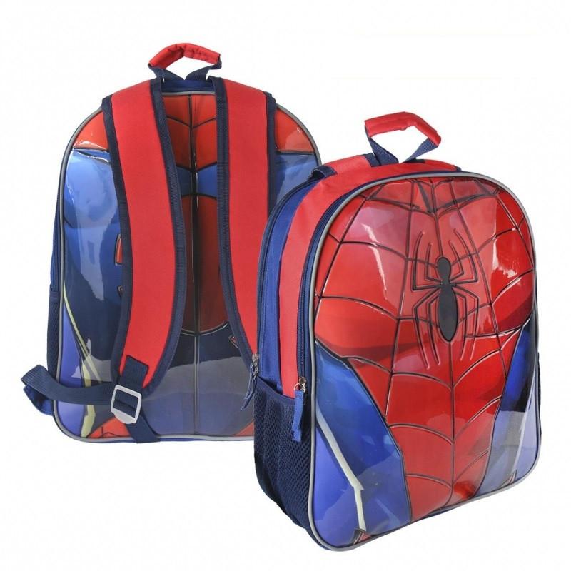 Oboustranný dětský batoh s Pavoučím mužem Spidermanem 31 x 41 x 13 cm
