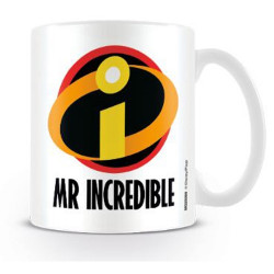 Keramický hrnek Úžasňákovi / Incredibles bílý 315 ml / vecizfilmu