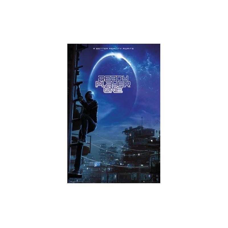 Plakát pro fanoušky Ready Player One / Hra začíná blue 61 x 91,5 cm