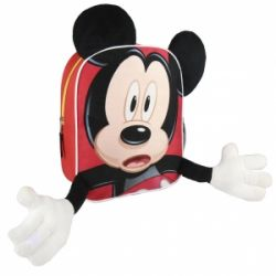 Dětský 3D batoh Myšák Mickey / Mickey Mouse 23 x 28 x 9 cm / vecizfilmu
