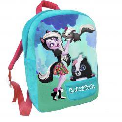 Dívčí batoh 30 cm Enchantimals s malým maskotem / skunkem / vecizfilmu