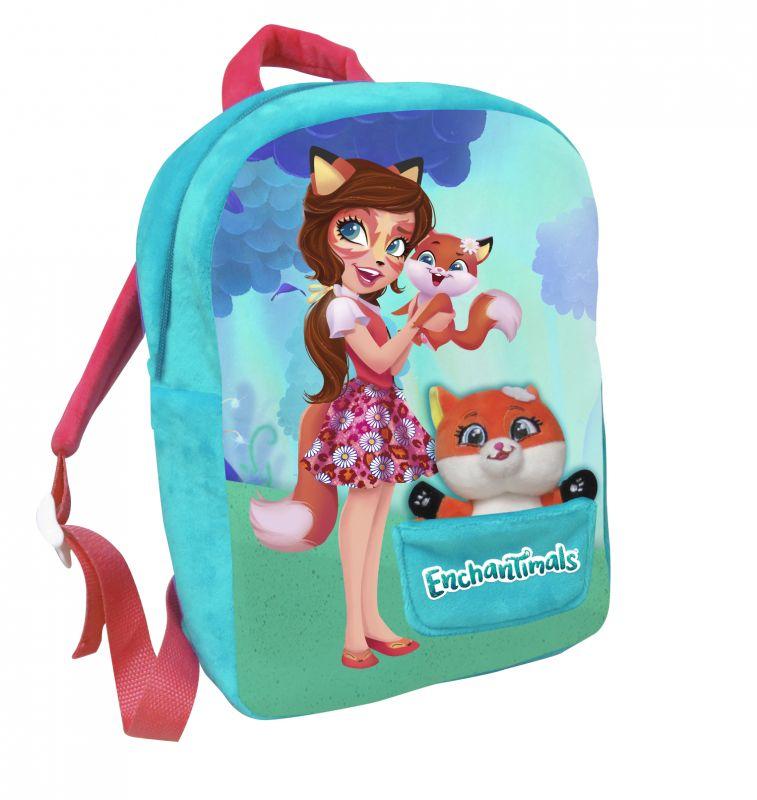Dívčí batoh 30 cm Enchantimals s malým maskotem / liškou