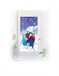 Dekorace Frozen / 150 x 75 cm / veci z filmu