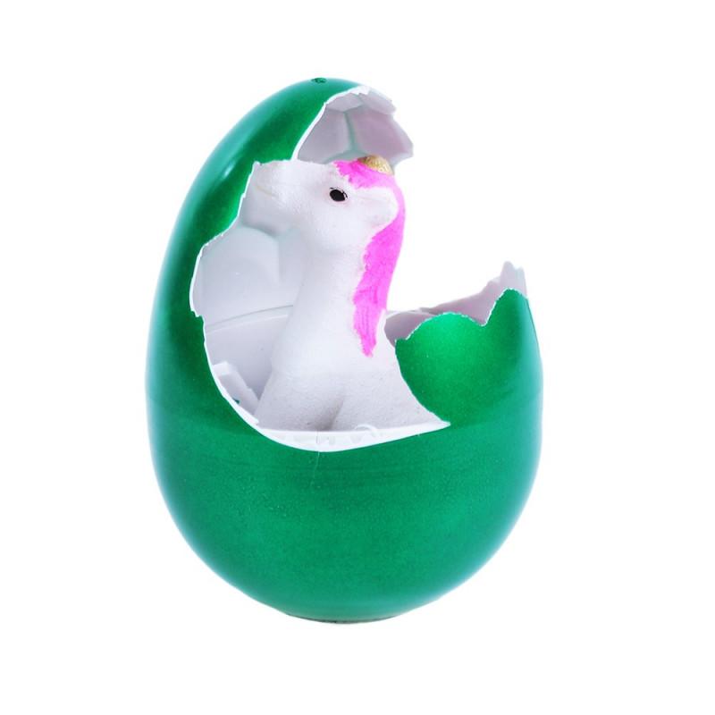 Jednorožec Unicorn rostoucí ve vejci / 12 cm
