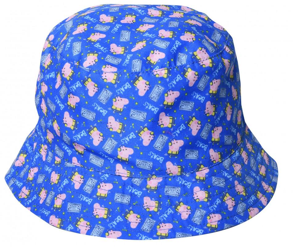 Letní chlapecký klobouček Prasátko Peppa / Peppa Pig velikost 50 / 52 cm