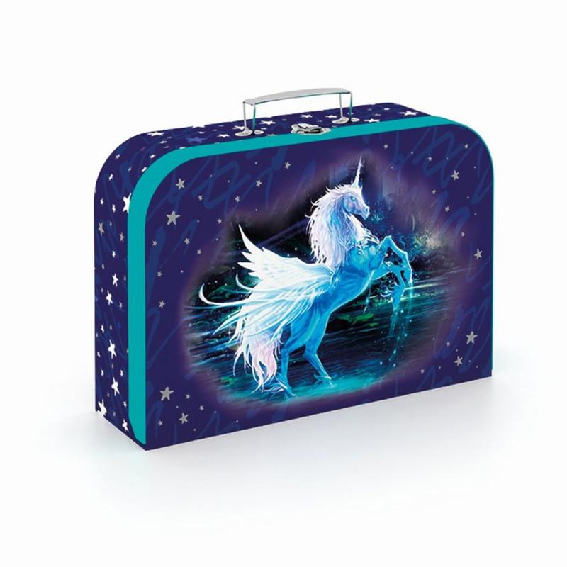 kufřík  Jednorožeč / Unicorn / 35 x 23 cm