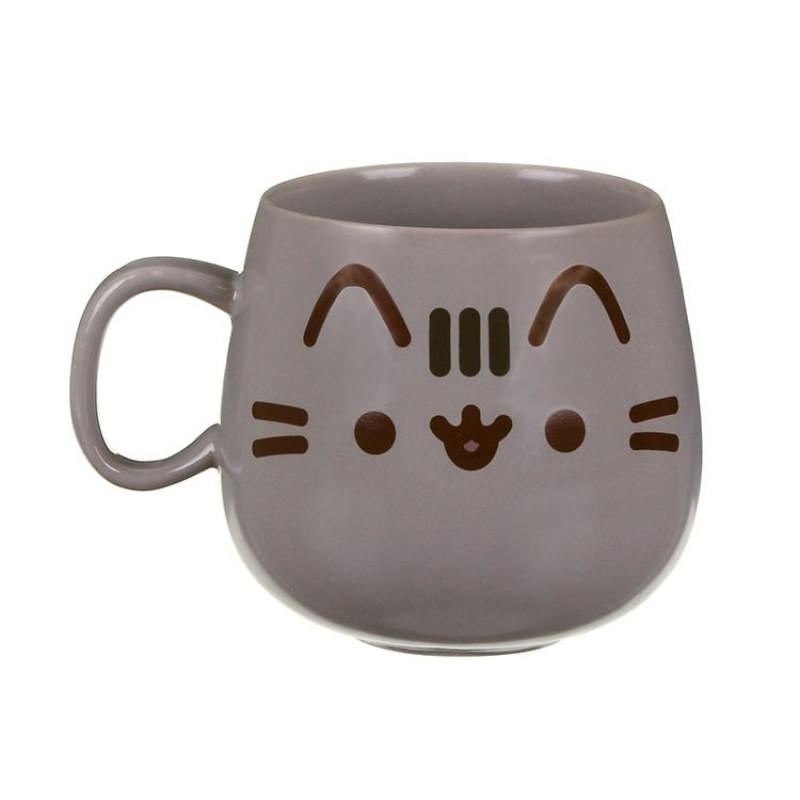 Dětský porcelánový hrnek s kočičkou Pusheen