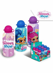Dívčí hliníková láhev na vodu Shimmer i Shine / Třpyt a lesk 500 ml
