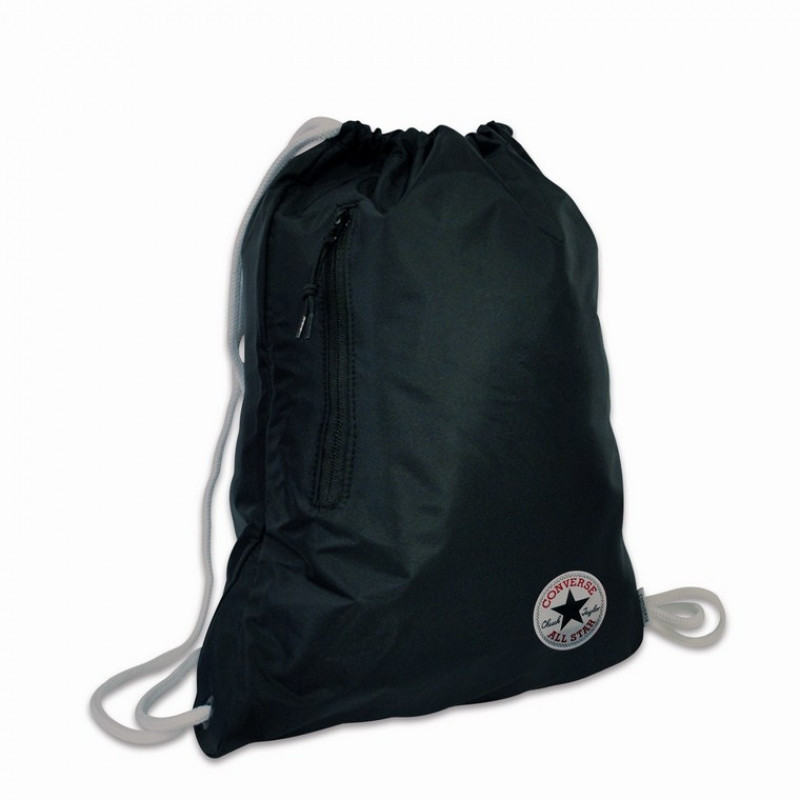 Gym Bag / Pytlík Converse / Černý / 45 x 30 cm
