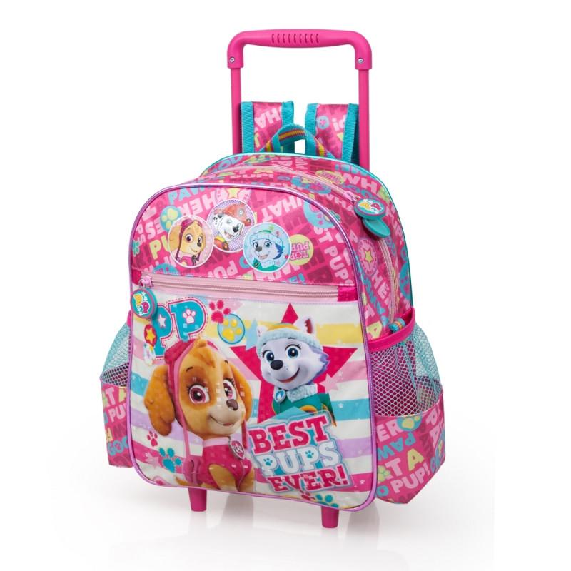 Dívčí batoh na kolečkách Tlapková Patrola   Paw Patrol Skye a Everest 29 x  25 x 17593cf2fb