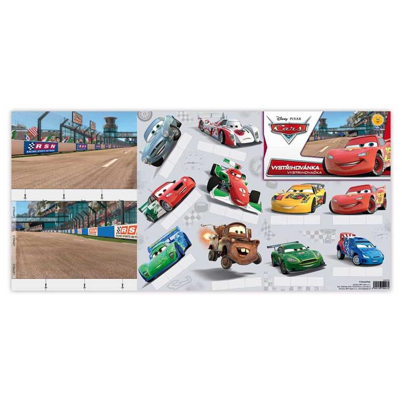 Vystřihovánky Auta /Cars / A4