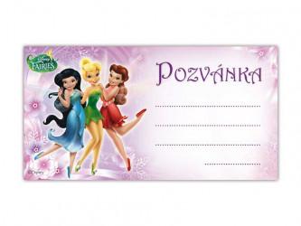Pozvánka Zvonilka / 19 x 10 cm / 10ks / veci z filmu