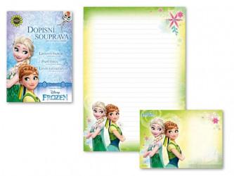 Dopisní papír barevný Frozen 2 / A4 / veci z filmu