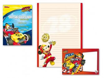 Dopisní papír barevný Mickey Mouse / A4