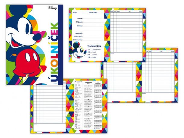 Úkolníček Mickey Mouse / A6 / veci z filmu