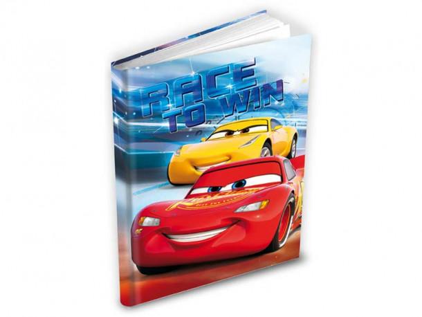 Deník / Památník Cars / 14 x 19 cm / veci z filmu