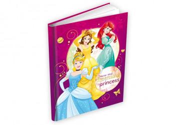 Deník / Památník Princess / Princezny / 14 x 19 cm