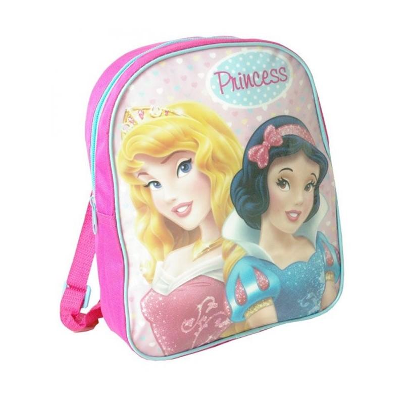 Dětský batůžek Princezny Sněhurka a Aurora 28 cm