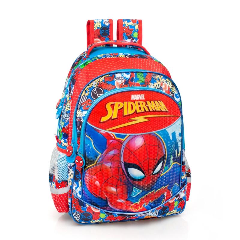 Školní batoh Spiderman   červený   44 x 28 x 16 cm   veci z filmu 00b162548d
