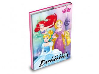 Desky na sešity / box A4 / Princess / veci z filmu