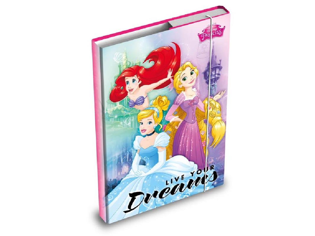 Desky na sešity / box A5 / Princess