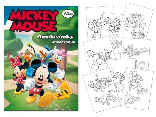 Omalovánky Mickey Mouse / A4