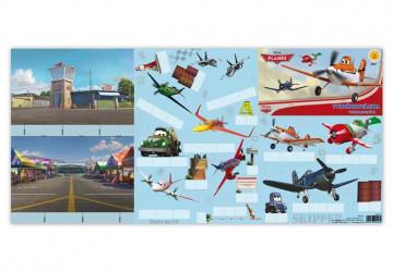 Vystřihovánky Letadla / Planes  / A4 / veci z filmu