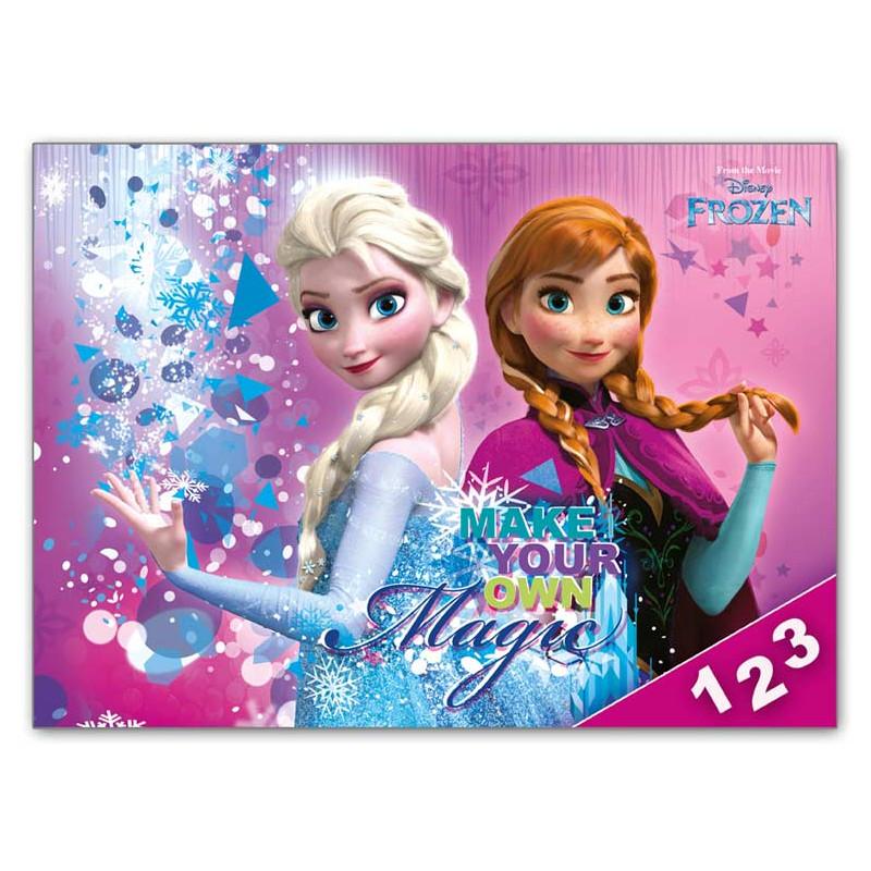 Desky na číslice / Frozen / 18 x 25 cm
