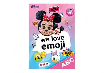 Desky na písmena  ABC / Minnie Mouse  Emoji / A4 / veci z filmu