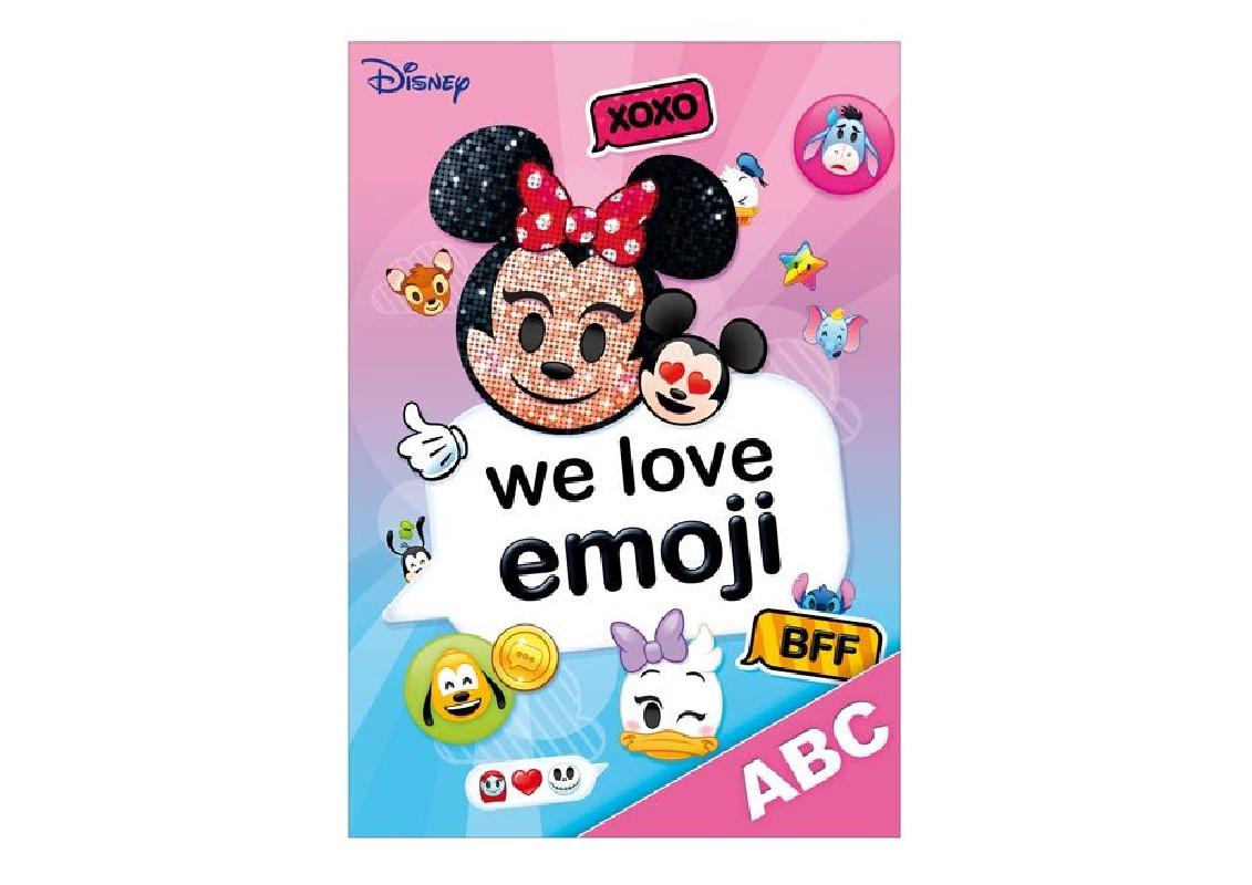 Desky na písmena  ABC / Minnie Mouse  Emoji / A4